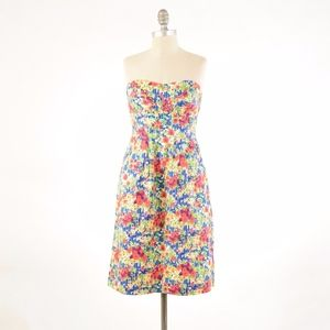 Girls from Savory Strapless Floral Dress